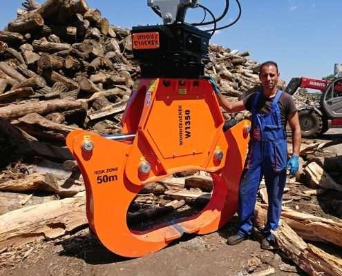 Woodcracker W1350 in Bulgarien