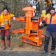 Woodcracker CS580 | Greifersäge | Grapple saw