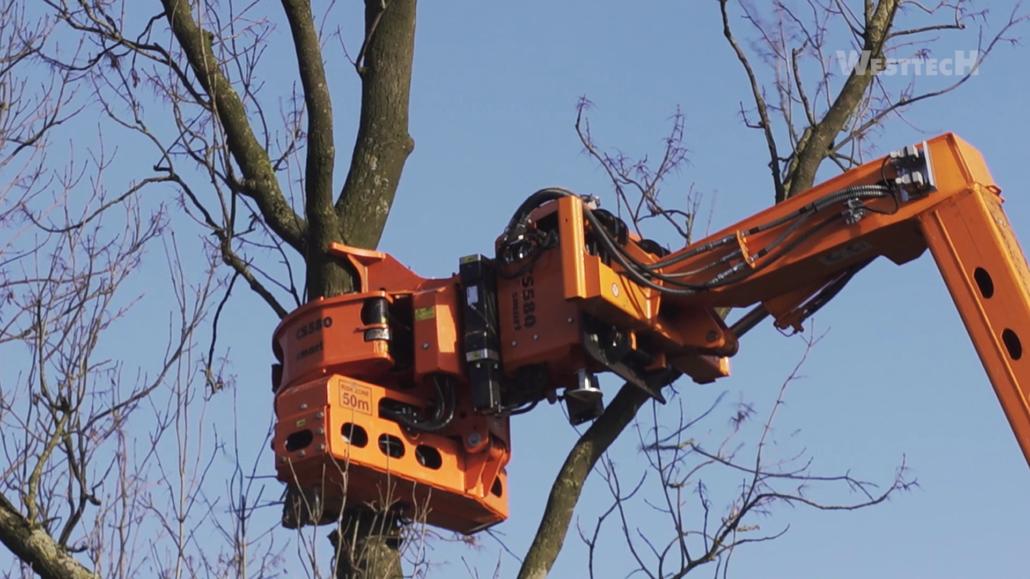 Bremer Baumdienst | Woodcracker CS580 smart | Greifersäge
