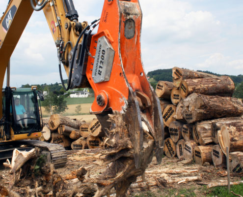 Woodcracker R Rodeschere Wurzelschere stump remover